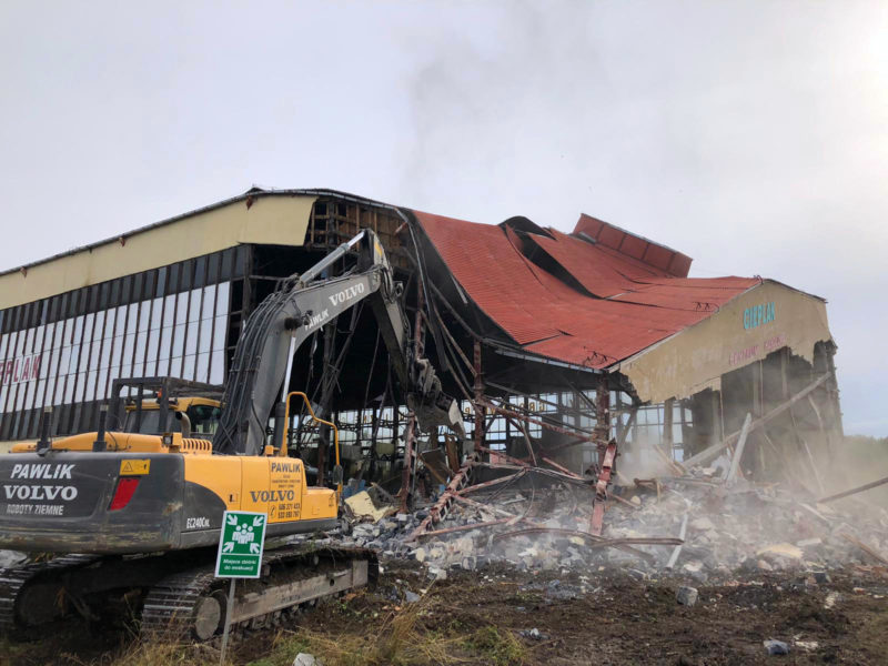 Wyburzenia budynków 8