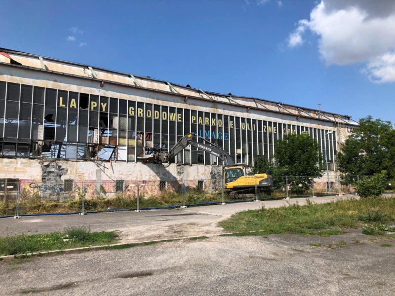 Wyburzenia budynków 9