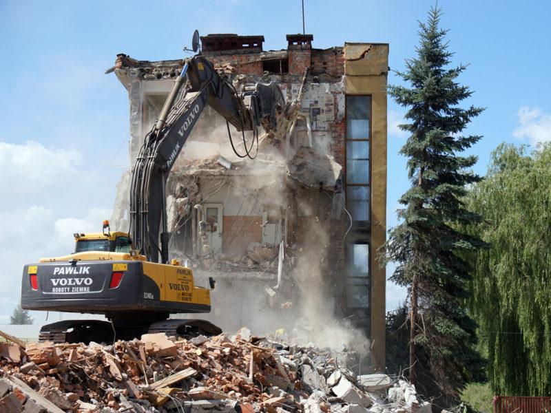 Wyburzenia budynków 2